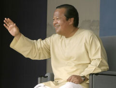 Prem Rawat speaking at a recent event